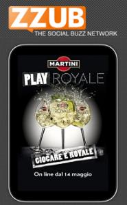 Martini Play Royale. la più grande community di passaparola in Italia.