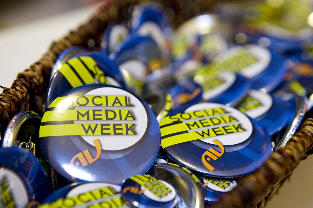 Eventi: il 12 settembre parte la Social Media Week a Roma